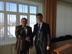 Александр Прасолов и Андрей Макаров