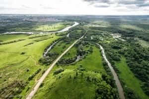 Вид с городища Иднакар